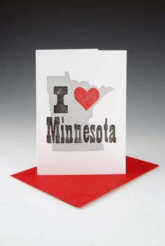 I heart Minnesota via Etsy.