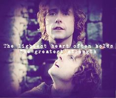 And the greatest wisdom. I love Pippin's words to Beregond about hope as the storm of battle is about to break over Minas Tirith. He learned this from Gandalf and teaches us. I love this from Cirth Ithil Inklings Facebook page.