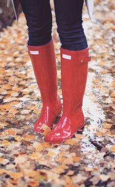 I love these rain boots!!