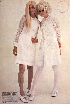 SWEET JANE: It's a White, White Christmas..Rave Fashion 1967