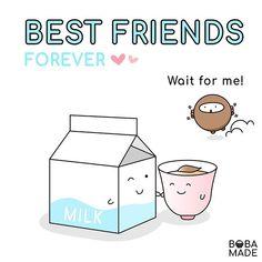 It's Best Friends Day! 👉🏻Tag your best friends! Bubble Tea Menu, Bubble Milk Tea, Themed Parties, Party Themes, Boba Smoothie, Bubble Boba, Fb Page, Best Friends Forever, Delicious Recipes