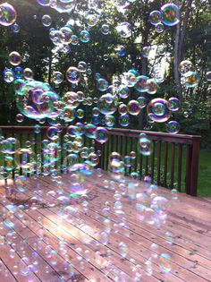 Lovely bubbles!                                                                                                                                                                                 More