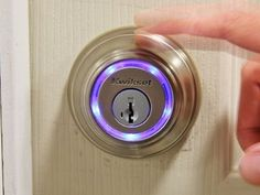 """""""What if you could open your door with a touch? That's where hardware like Kevo comes into play. By registering different users on the application, Kevo allows its owner to lightly touch the lock to open the door."""" - Steven Norris, Gearburn"""