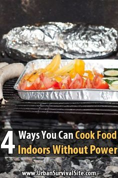 4 Ways You Can Cook Food Indoors Without Power After Hurricane Sandy, I got a message asking about cooking without power when it's too cold to go outside, so here are a few options. Emergency Food Storage, Emergency Preparedness Kit, Emergency Preparation, Emergency Planning, Emergency Supplies, Hurricane Preparedness Kit, Emergency Water, Family Emergency, Survival Supplies