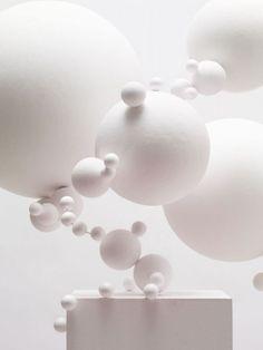 Tara Donovan  — White art installation
