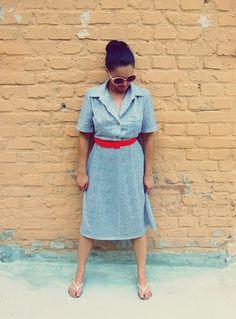 Vintage Kleid ...