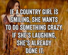 I need to show this for my cousins! It will help them out a lot in life kno. Es wird ihnen viel im Leben Real Country Girls, Country Girl Life, Country Girl Quotes, Cute N Country, Southern Girls, Farm Girl Quotes, Country Sayings, Redneck Girl Quotes, Country Girl Stuff