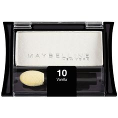 Maybelline New York Expert Wear Eyeshadow Singles Vanilla 10S 009 Ounce 2 Pack * Check this awesome product by going to the link at the image.