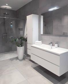 Grey bathrooms designs - 32 best bathroom designs images of beautiful bathroom remodel ideas to try 20 Grey Bathrooms Designs, Bathroom Designs Images, Modern Bathroom Design, Bathroom Interior Design, Ikea Interior, Contemporary Bathrooms, Toilet And Bathroom Design, Restroom Design, Interior Ideas