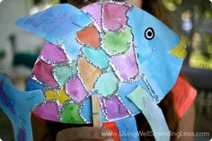 Summer Fun with Kids | Easy Art Project Ideas | Rainbow Fish Puppets