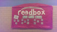 Readbox sight word rental