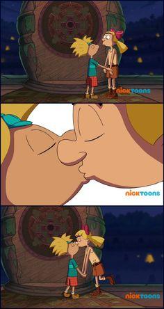 #heyarnoldthejunglemovie #heyarnold #cartoons #nickelodeon #nicktoons #animation #movies #shortaki #onscreenkiss #kiss