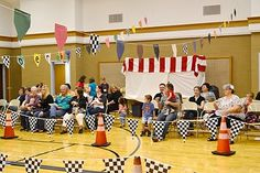 Pinewood derby re-cap...complete with concession stand details.