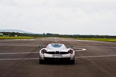 Drive around an airfield with excessive speed and sliding.