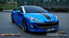 Peugeot RCZ | Blue Chrome — FolioPlus