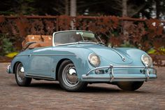 Porsche Classic, Pretty Cars, Cute Cars, Old Vintage Cars, Antique Cars, Vintage Classic Cars, Porsche 911, Porsche 356 Speedster, Audi