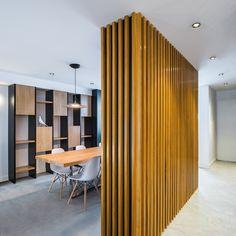 Location: Madrid (Spain)   ||   Design: Bsod_raum   ||   Lighting partner: Antonio del Nogal   ||    Photography: Javier Bravo Oasis, Living Room, Furniture, Madrid, Design, Home Decor, Stairs, Architecture, Decoration Home