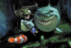 Finding Nemo -- Fish Are Friends, Not Food
