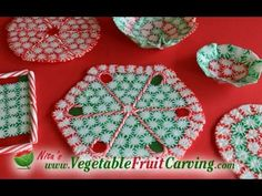 """""""How to Make Edible Candy Plates"""" to give as gifts, with goodies on top of them!"""