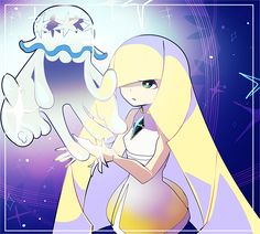 independent + semi-selective RP blog for Lusamine from Pokémon Sun & Moon