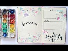 No vídeo de hoje eu vim fazer junto com vocês o meu bullet journal de fevereiro, e mostrar como eu decoro e como eu me organizo todo mês! Esse mês em especia...