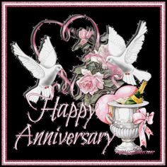 HAPPY aNNIVERSARY Happy Wedding Anniversary Wishes, Anniversary Greetings, Happy Birthday Greetings, Happy Aniversary, Anniversary Pictures, Anniversary Verses, Birthday Pictures, Wedding Doves, Samantha Pics