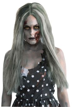 Wig Creepy Zombie