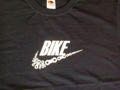 Mountain bike T shirt Men's T Shirt Bicycle by CycloDesignShirt