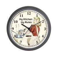 15 10 Inch Clocks Walmart Com Wall Clock Price Clock Kitchen Wall Clocks