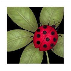 """""""Green Garden Lady Bug,"""" Stephanie Stouffer"""