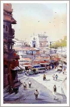 Paintings by Amit Kapoor