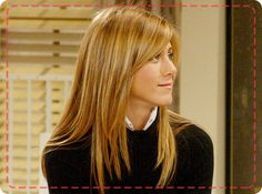 Sigh... THOSE highlights that made Jennifer Aniston the hair envy of women everywhere!