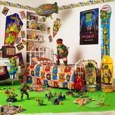 Ninja turtle ceiling fan | ninja turtle bedroom | Pinterest | Ninja ...