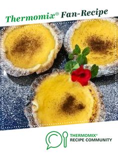 Recipe Perfect Pie maker custard tarts by thermifyme, learn to make this recipe easily in your kitchen machine and discover other Thermomix recipes in Baking - sweet. Sweet Recipes, Cake Recipes, Custard Tart, Thermomix Desserts, Mini Pies, Food N, Tarts, Brownies, Food To Make