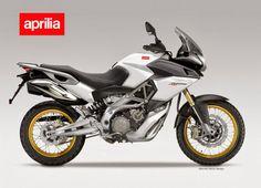 Aprilia Pegaso 750 Trail concept would utilize the Dorsoduro 750cc powerplant and Caponord 1200 styling. (designed by Oberdan Bezzi)