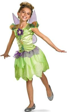 Disney Fairies - Tinker Bell Rainbow Classic Toddler / Child Costume: Large (10/12)