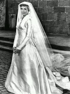 Sound Of Music. if i'm going to pin a wedding dress, it's gonna be this one!