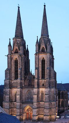 St. Elisabeth's Church in Marburg, Germany.