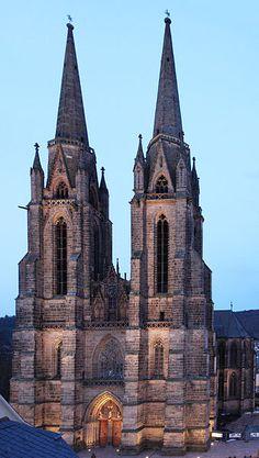 St. Elisabeth's Church in Marburg, Germany.