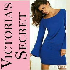 """Victoria's Secret Mini Dress Perfect for the summer. Light weight,  look great on all body types. Total length 35"""". Length from the mid section 14"""". 95% polyester & 5 % spandex Victoria's Secret Dresses Mini"""