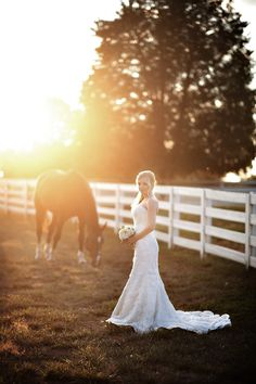 Greensboro North Carolina Bridal Portrait Session. Country Side Gorgeous sunset. Beautiful Bride