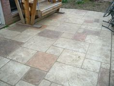 Stamped Concrete, Patio, Outdoor Decor, Home Decor, Terrace, Interior Design, Home Interior Design, Home Decoration, Decoration Home