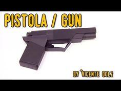 BEST COOL Origami paper gun | Cómo hacer de papel pistola origami - YouTube