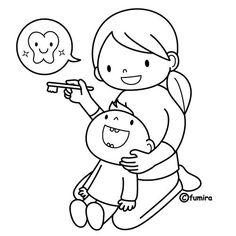 Dental Coloring Pages For Kids & Teeth Printables - Preschool ...