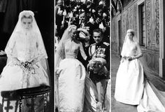 Le mariage de Grace Kelly http://www.vogue.fr/mode/inspirations/diaporama/grace-kelly-et-la-mode/15934/image/875966#!le-mariage
