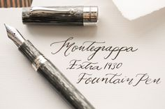 a12cf419622 Montegrappa 1930 Shiny Lines Dove Fountain Pen Canetas