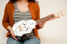 This is so awesome! Sheep ukulele  on Etsy, $625.00