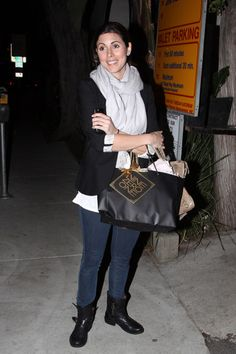 Jamie-Lynn Sigler Photos: Jamie-Lynn Sigler Leaving the Nine Zero One salon in West Hollywood