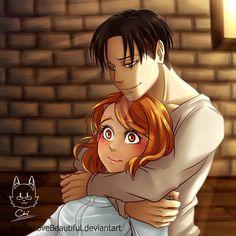 Hug From Behind by AimiisLoveBeautiful.deviantart.com on @DeviantArt