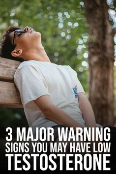 3 major warning signs you may have low testosterone. If you are reading this article that's mean you know or concern about your testosterone. Then you are at the right place. This well researched article can help you. Signs Of Low Testosterone, Low Testosterone Symptoms, Natural Testosterone, Boost Testosterone, Increase Testosterone Naturally, Weight Loss For Men, Men Health, Healthy Eating Habits, Warning Signs